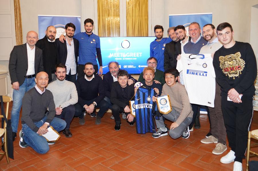 Inter, durante la trasferta a Firenze