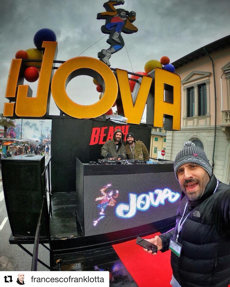 Lorenzo Lippi sulla scia del Jova Beach Party