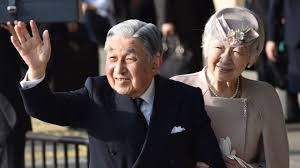 Akihito, il 125° Imperatore del Giappone, abbandona