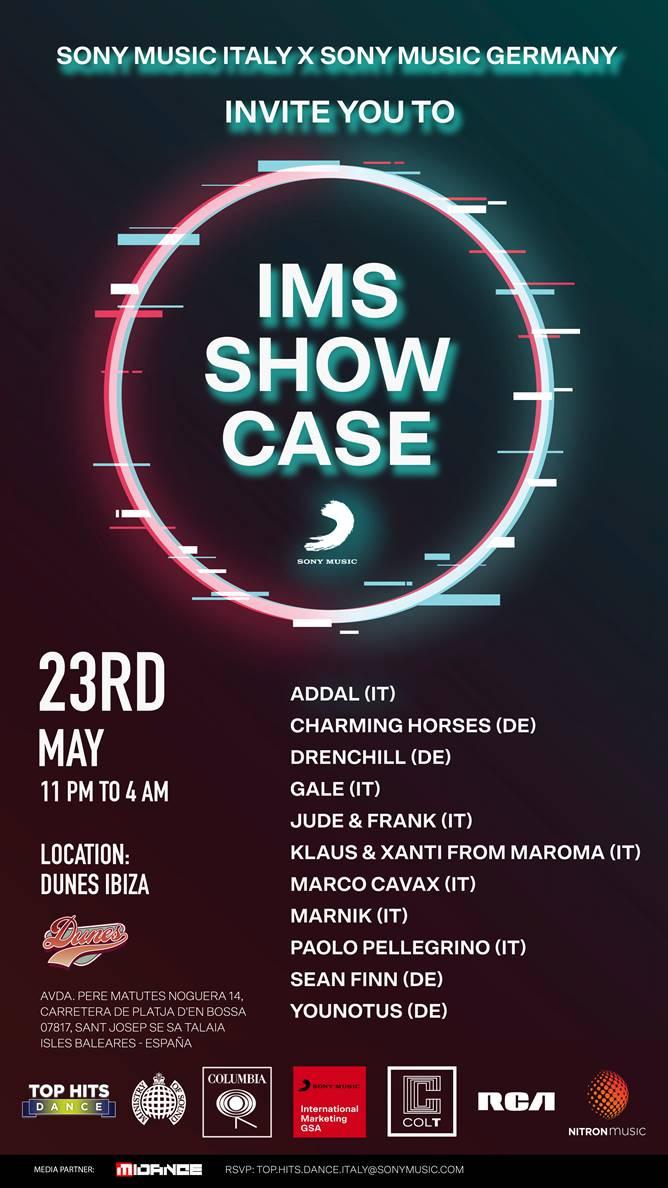 Sony Music IMS Showcase