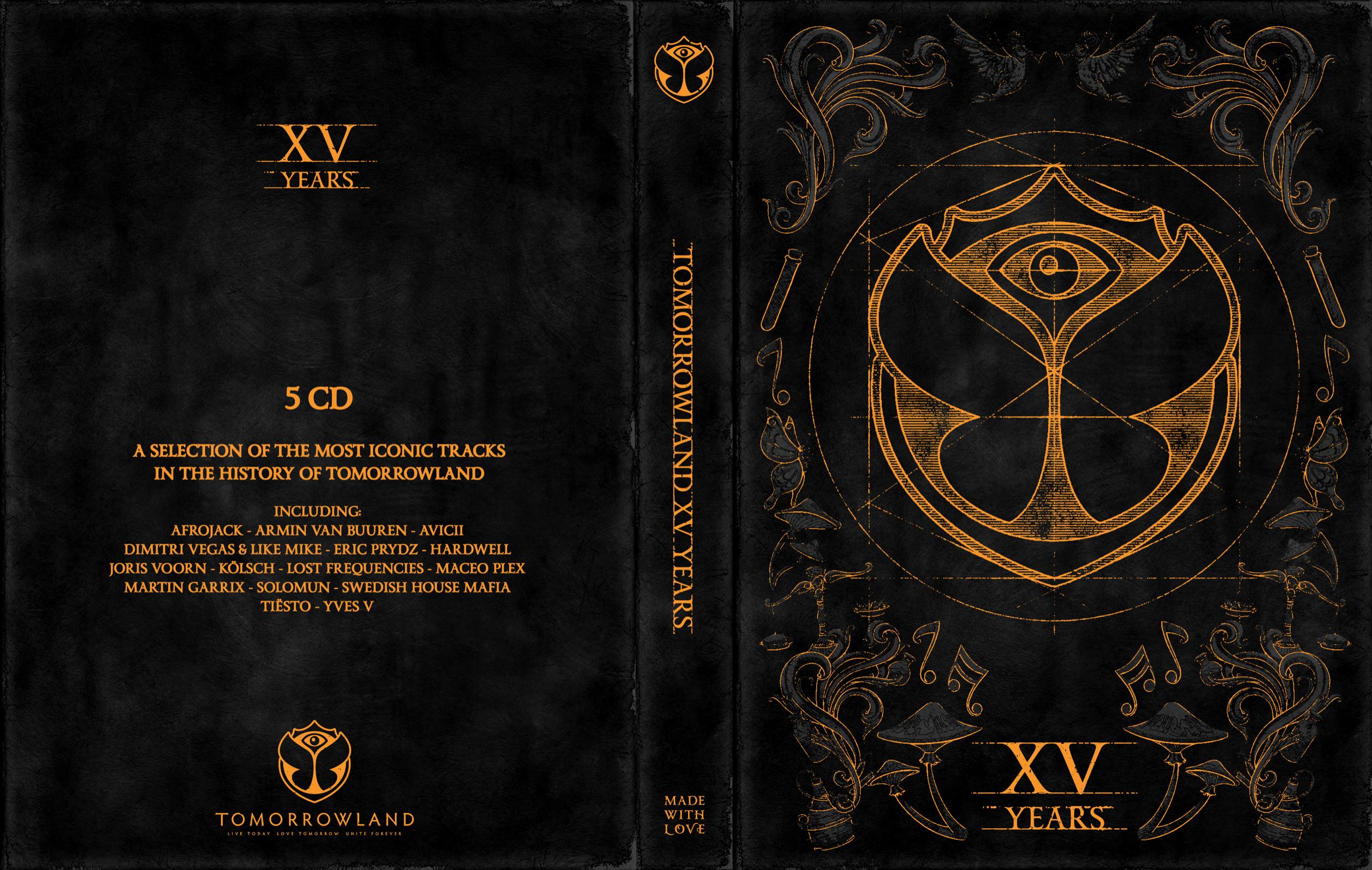 """Il suono trasversale è nel cd box """"Tomorrowland XV Years"""""""