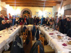 Il Gran Galà tenutosi presso il BioAgriturismo La Garavina