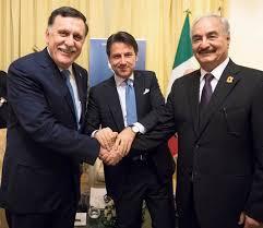 L'incontro di Conte con Fayez Al-Serraj a Tripoli