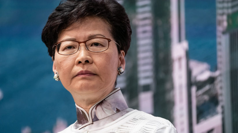 L'onorevole Carrie Lam