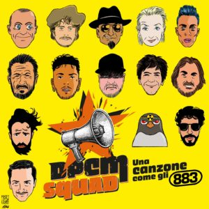 DPCM Squad cover Una canzone come gli 883