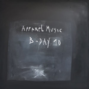 Cover . Apparel Music B-Day 10