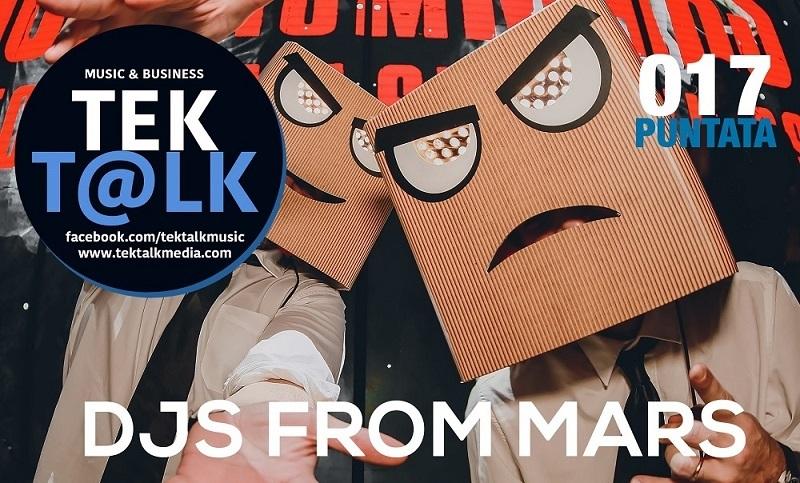 I DJs From Mars sbarcano il 22 settembre su a TekTalk