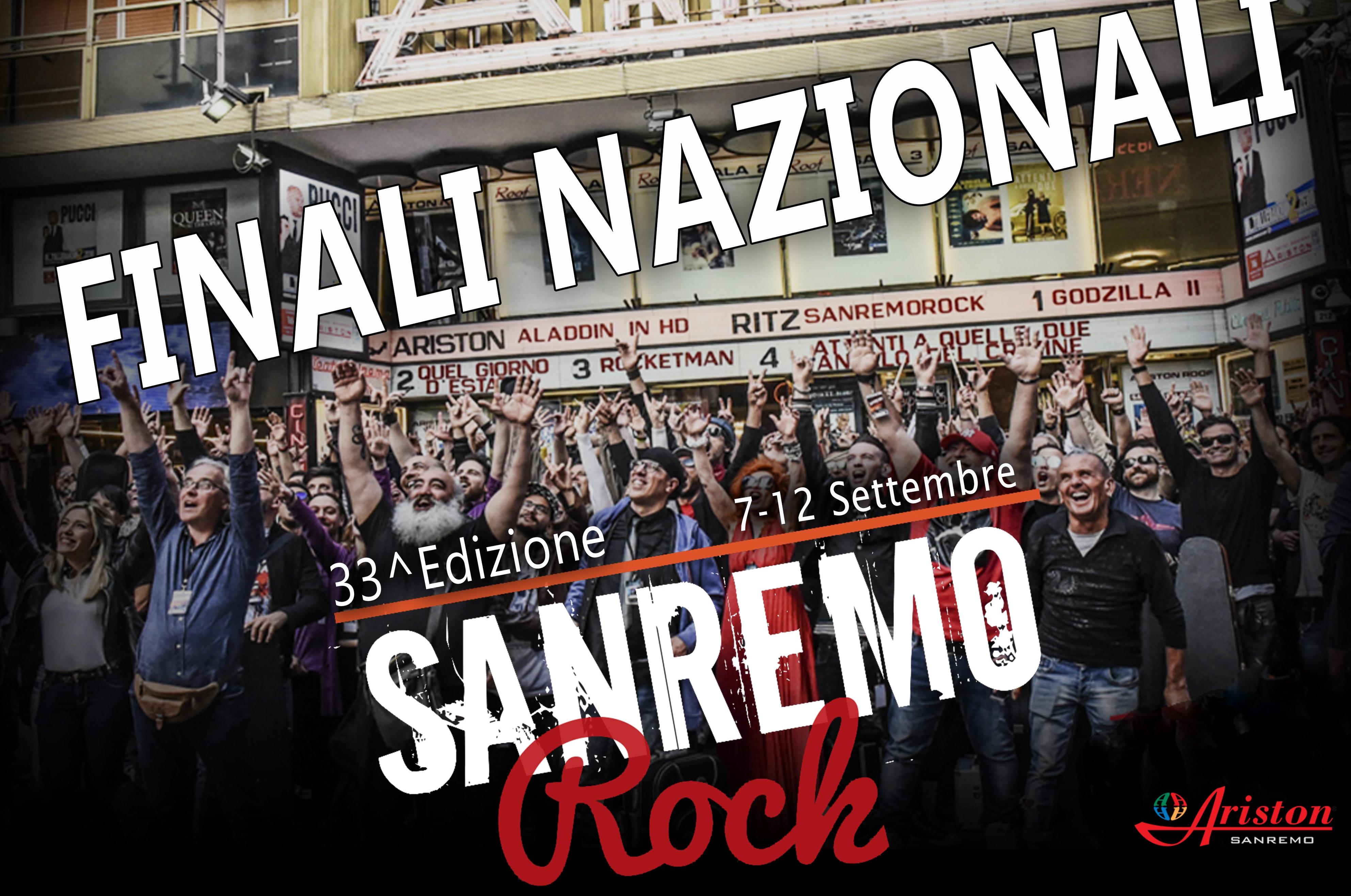 Dal 7 al 12 settembre le Finali di Sanremo Rock al Teatro Ariston