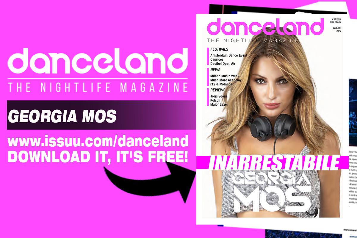 La cover story di Danceland è tutta di Georgia Mos