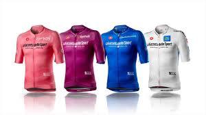 Maglie del Giro d'Italia 2020