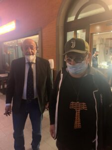 Luciano Moggi e Cesare Pompilio