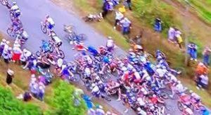 Cadute al Tour de France