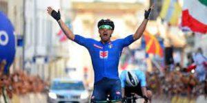 Sonny Colbrelli è campione europeo
